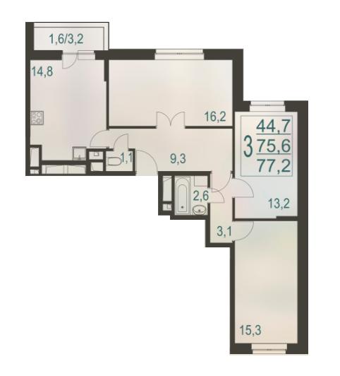 Квартира в зачет имеющегося жилья в Екатеринбурге от